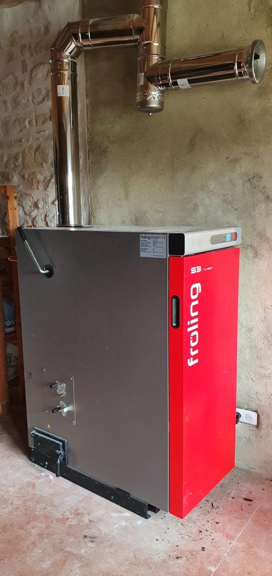 Système de chauffage et production d'eau chaude sa